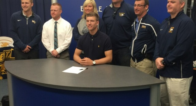 Ryley Pease Has Signed to Play Football with the Marian Knights