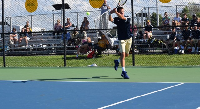 Senior Day Coming Up Wednesday for Boys' Tennis