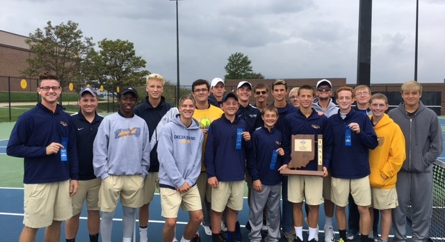 Eagles Earn 24th Straight Sectional Tennis Title