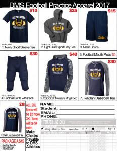 2017 DMS Footbal Prctice Pack form (3)