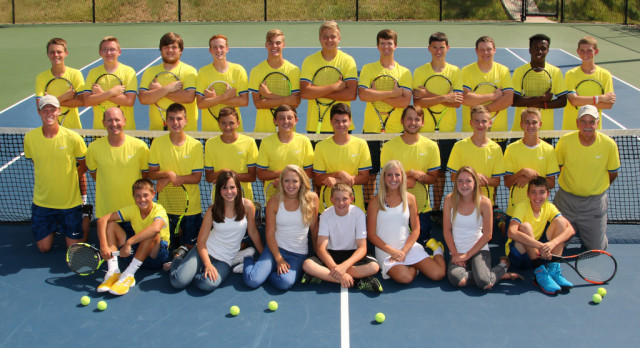 Boys' Tennis Season Ends at Semi-State