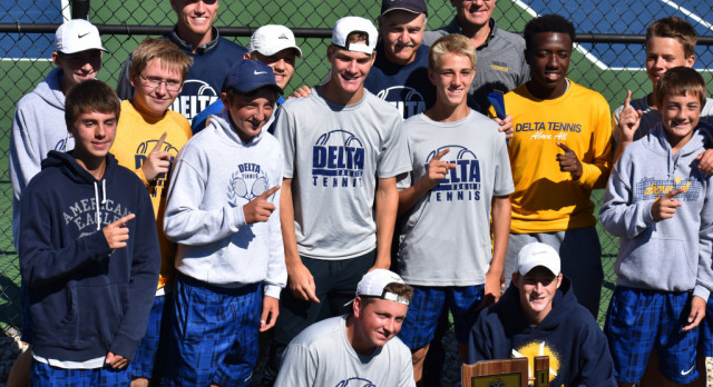 Eagles Earn 25th Straight Sectional Tennis Title