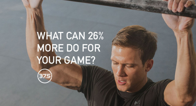 What can 26% more do for your game? – Presented by 37.5® Technology