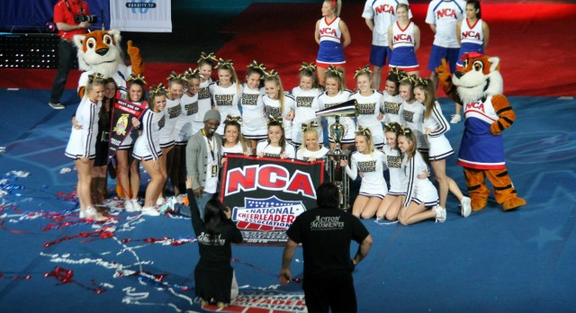 Cheerleaders Bring Home National Championship