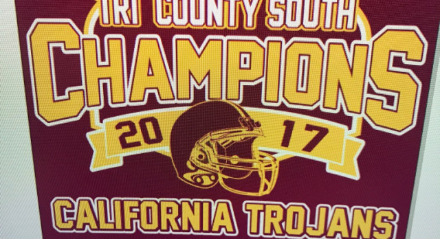Order your Trojans Championship Gear from Bee Graphix
