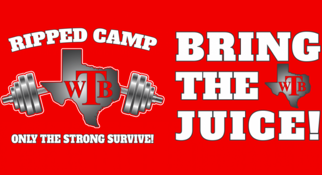 RIPPED Camp Registration