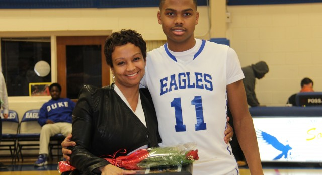 Eagle Basketball Player Passes the 1,000 Point Mark
