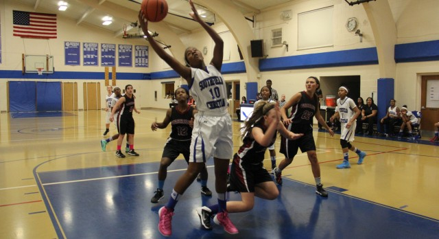 Southfield Christian High School Basketball Varsity Girls falls to Franklin Road Christian High School 39-55