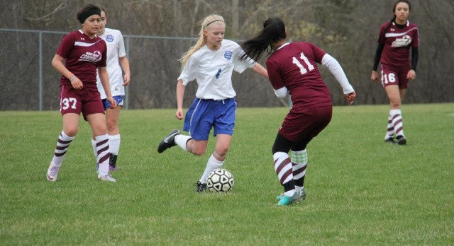 Southfield Christian High School Soccer Varsity Girls beats Western International High School 4-2