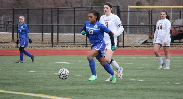 Southfield Christian High School Soccer Varsity Girls falls to Ferndale High School 0-3