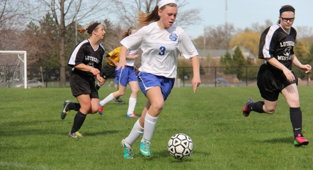 Girl's Soccer Player Earns All-State
