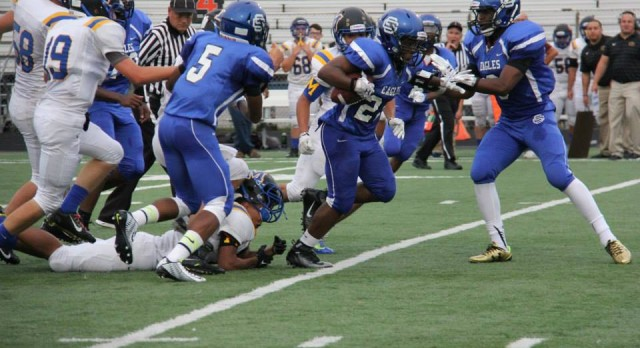 Southfield Christian High School Varsity Football falls to Madison MS/HS (Adrian) 7-44