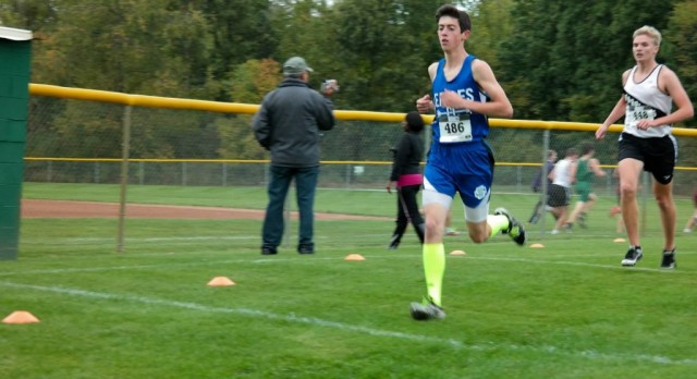 Southfield Christian High School Boys Varsity Cross Country finishes 8th place
