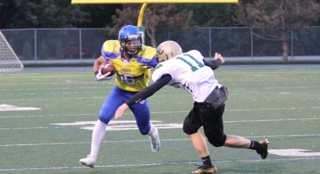 Southfield Christian High School Varsity Football beat Oakland 26-6