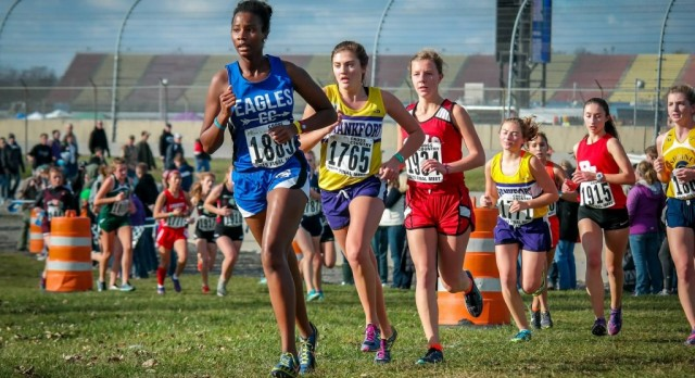 Southfield Christian Girls Varsity Cross Country finishes 23rd place at States