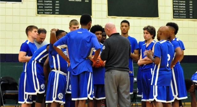 Southfield Christian High School Boys Varsity Basketball beat Greenhills High School 75-37