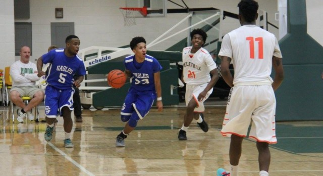 Southfield Christian High School Boys Varsity Basketball beat Belleville High School 70-69