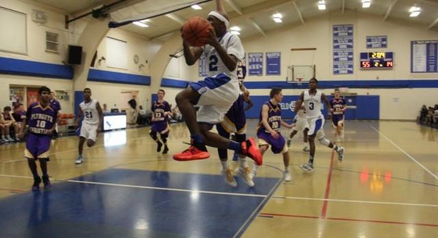 Southfield Christian High School Boys Varsity Basketball beat Plymouth Christian 78-43