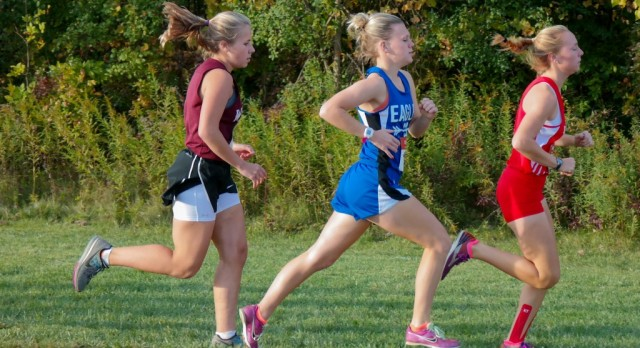 Southfield Christian High School Girls Varsity Cross Country finishes 4th place