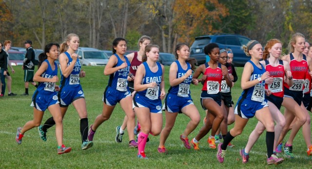 Girls Cross Country finishes 3rd place Regionals
