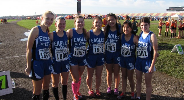 Girls Cross Country finishes 26th at the State Meet