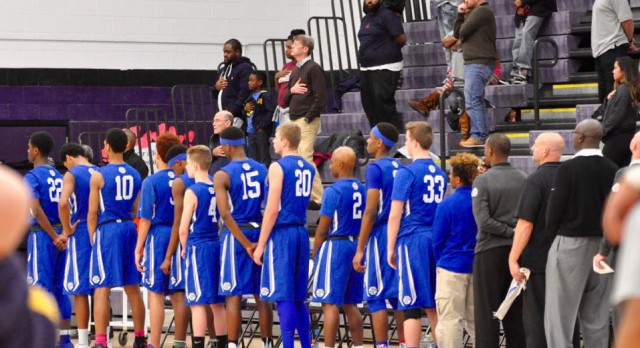 Southfield Christian High School Boys Varsity Basketball falls to Ann Arbor Pioneer High School 66-62