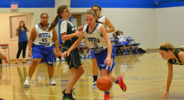 Middle School Girls Basketball Recap