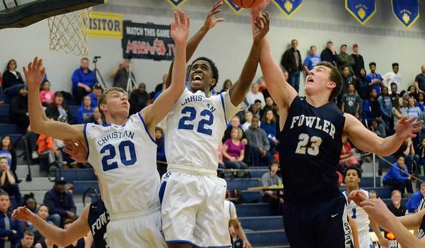 Southfield Christian High School Boys Varsity Basketball beat Fowler High School 64-42