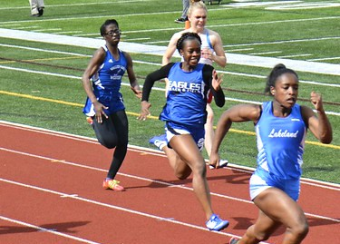 Amene Impresses at Oakland County Track Championships