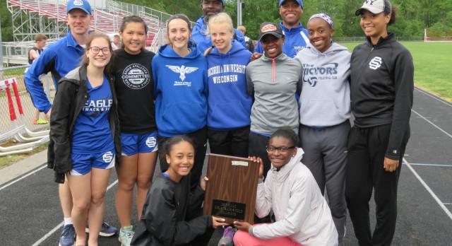 Girls Varsity Track Wins 2nd Straight MIAC Conference Title