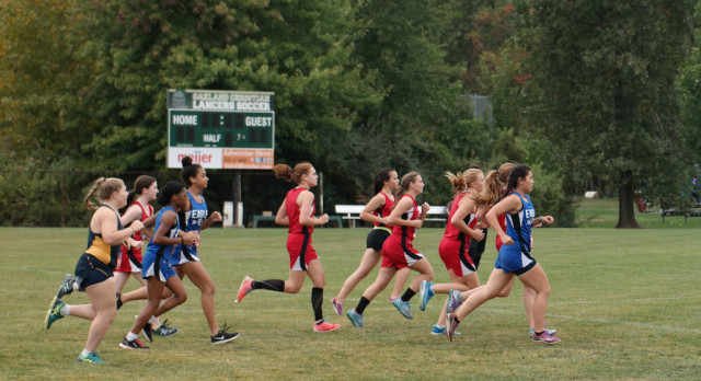Southfield Christian High School Girls Varsity Cross Country finishes 8th place