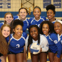 Varsity Volleyball Pics vs. LNW