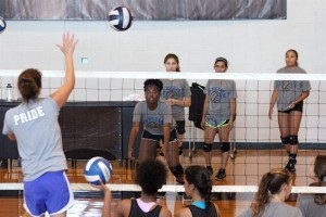 ARS Volleyball Practice 1
