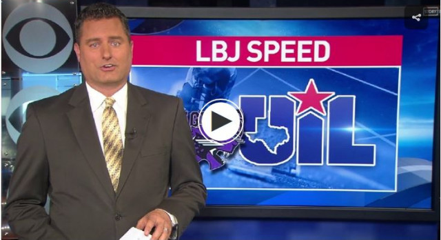 LBJ Track Featured on the News