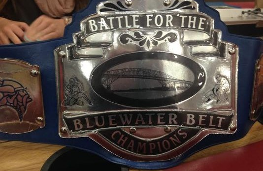 Wrestling Takes 3rd in Battle of the Belt