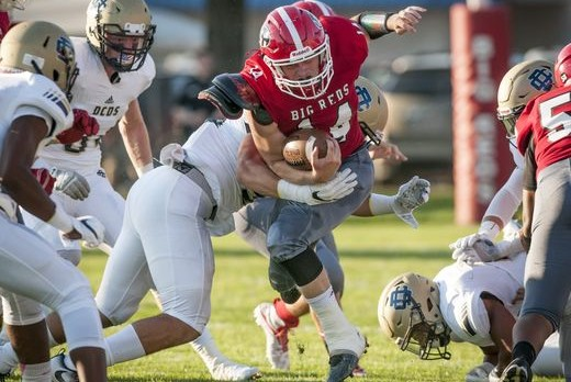 Country Day Holds Off Port Huron High 17 – 7