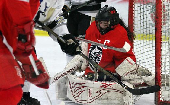 Fetterly Held Her Own In Boy's Hockey