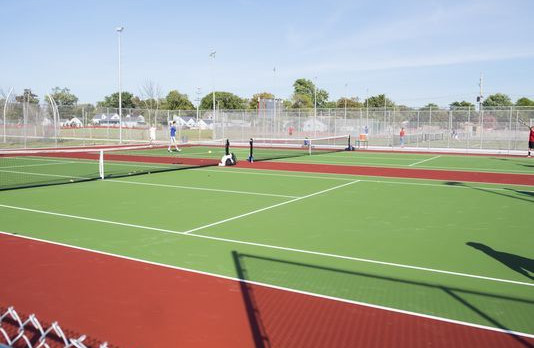 Our New Tennis Courts – Beautiful!