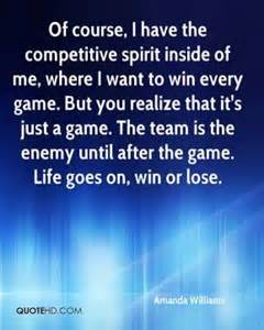 What's Better Than a Competitive Spirit?