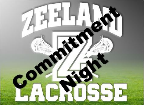 Zeeland LAX; Commitment Night Thursday Dec 3 @7pm