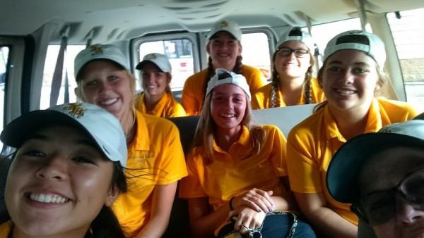 Girls in the Van