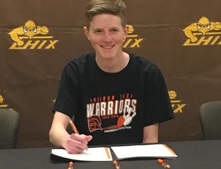 Tyler DeJonge Signs at Indiana Tech!