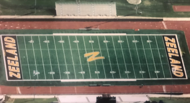 Aerial Photo of the East-West Game This Friday