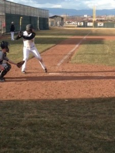 Korbyn Bertoch has hands and weight back for walk-off  base hit vs. Juab
