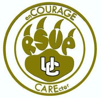 UC enCOURAGECAREcter White Logo