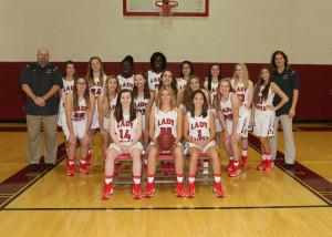 Varsity Girls Basketball 2016-2017