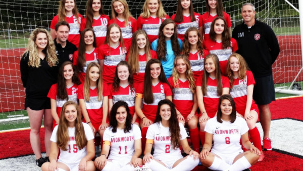 2017 Girls Soccer Team