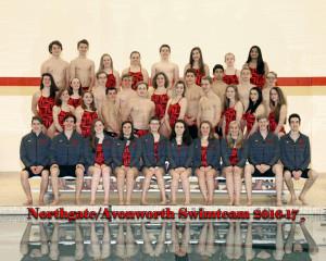 Varsity Swimming 2016-2017