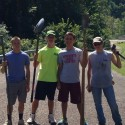 Cross Country Team Tending Trail at Ohio Township Park