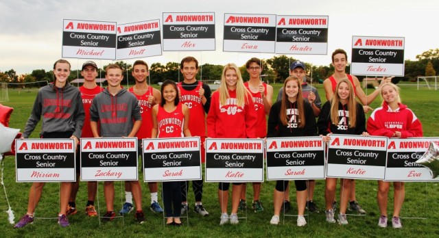Avonworth Cross Country Meeting for Both High School & Middle School
